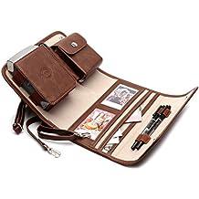 Impresora de fotos portátil caso para Fujifilm Instax Compartir SP-2teléfono inteligente impresora, bolsa de viaje (marrón)