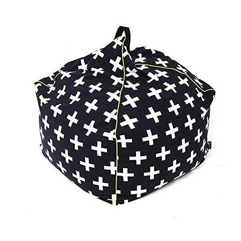 Liyongdong Lazy Sofa a Person, + -Type Pattern Beanbag,
