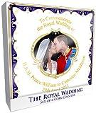 L&P Lot de 6 sous-verre Mariage du Prince William et de Catherine Middleton
