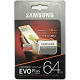 Samsung Evo Plus 64GB 100MB/S Read Speed Class 10 Micro SD Card With Adapter
