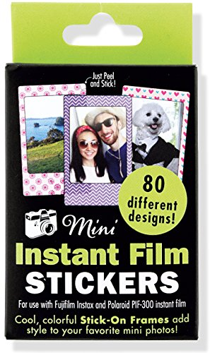 Produktbild Mini Instant Film Photo Frames: For Use with Fujifilm Instax and Polaroid PIF-300 Instant Film