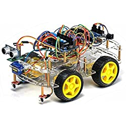 Kit completo Robot Arduino 4WD