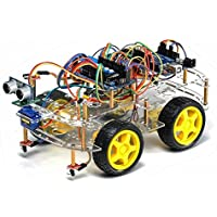 TBS2654 (bluetooth) Kit completo Robot Arduino 4WD