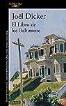 El libro de los Baltimore par Joël Dicker