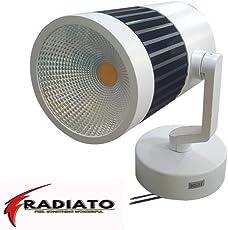 Radiato 16 Watt Adjustable Surface Mounted Dimmable LED Spot Track Light(Focus Light/Picture Light/Highlighter).(Warm White)