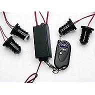 Auto Car LED ultra fine avertissement 6modes flash 12V 4W de danger de sécurité d'urgence de la torche électrique Grille Du précipité de la plate-forme Strobe Light Lamp Bar km609–4 personalizzare