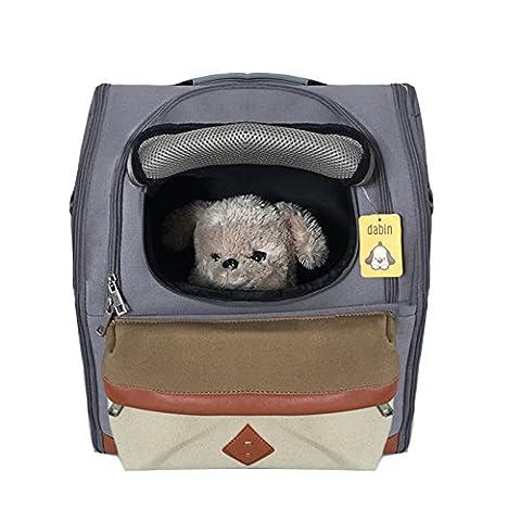 Mogoko Haustier Hund Rucksack Hunderucksack Träger Bag Pet Carrier Hundetasche Outdoor-Reise Schultertasche Tragetasche für Hunde, Katzen (Hund Pet Carrier)