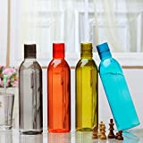 #6: Steelo Savory Water Bottle, 1000ml, Set of 4, Assorted