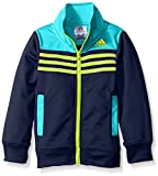 adidas Little Boys' Tiro and Tricot Jackets, Tile Blue, 6