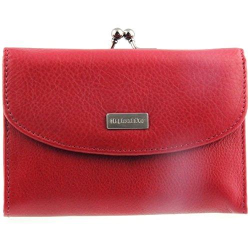 Portefeuille, porte-monnaie, ELEPHANT D'OR, très féminin, rouge
