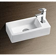 Burgtal 17800 Design Keramik Wandmontage Waschbecken Handwaschbecken BKW 24