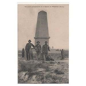 CPA (51) PROSNES - Monument commémoratif de la Bataille