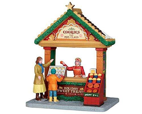 Lemax - Cookies from Mrs.Claus - Keksstand - Zubehör - Christmas Village - Weihnachtsdorf -