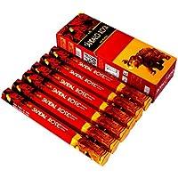 Preisvergleich für 6Box/Pack 120Sticks, sreevani Sandale Rose Qualität Räucherstäbchen Duft aus Indien