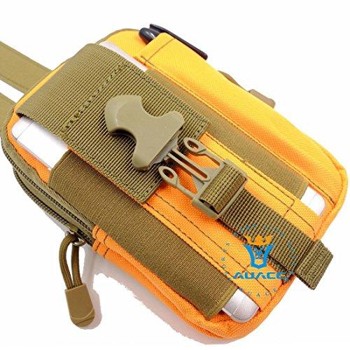 Multifunktions Survival Gear Tactical Beutel MOLLE Beutel Armee Handytasche, Outdoor Camping Tragbare Tasche Handtaschen Taille Tasche Werkzeugtasche Travel Handytasche OR