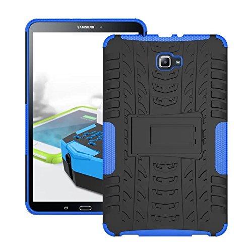 custodia per tablet samsung Skytar Custodia per Galaxy Tab A 10.1- Protezione in Silicone & PC Duro Stand Cover per Samsung Galaxy Tab A 2016 SM-T580/T585 10.1 Pollici Tablet Custodia