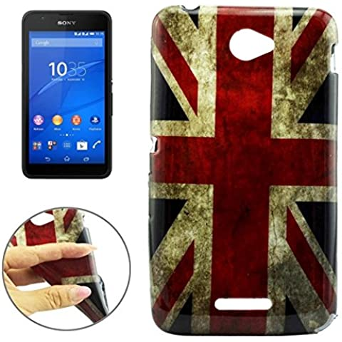Wkae Case & Cover Flag UK caso del modello di protezione Olio TPU Gloss per (Gloss Olio)