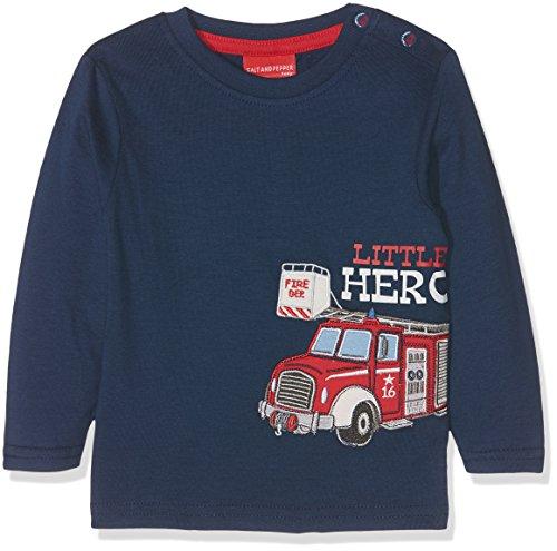 Salt & Pepper B Longsleeve Little Hero Uni, T-Shirt Manches Longues Bébé Garçon Salt & Pepper