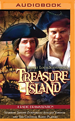 Price comparison product image Robert Louis Stevenson's Treasure Island: A Radio Dramatization