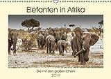 Elefanten in Afrika - Die mit den großen Ohren (Wandkalender 2019 DIN A3 quer): Imponierende Geschöpfe mit ausgeprägtem Familiensinn (Monatskalender, 14 Seiten ) (CALVENDO Tiere)
