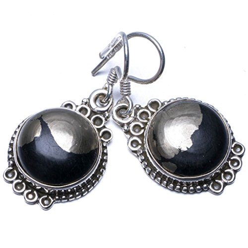 stargemstm-natural-apache-gold-stone-unique-punk-style-925-sterling-silver-earrings-1-1-4