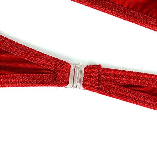 XinGe Herren Bikini Boxer Briefs G String Unterwäsche Shorts Free Size Pack of 3