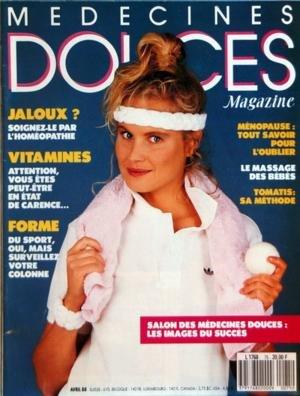 MEDECINE DOUCES MAGAZINE N? 75 du 01-04-1988 JALOUX - SOIGNEZ-LE PAR L'HOMEOPATHIE - VITAMINES - FORME - DU SPORT MAIS ATTENTION VOTRE COLONNE - MENOPAUSE - L'OUBLIER - LE MASSAGE DES BEBES - TOMATIS - SA METHODE - SALON DES MEDECINES DOUCE