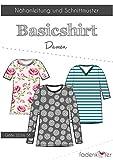 Stoffe Werning Schnittmuster Fadenkäfer Basic Shirt Damen Gr.32 bis 58 Papierschnittmuster