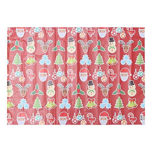 Toyvian 20 stücke Weihnachten Packpapier Bundle Scrapbooking Blume Buchverpackung für Weihnachten Urlaub Geschenk Wrap Party Supplies Favors