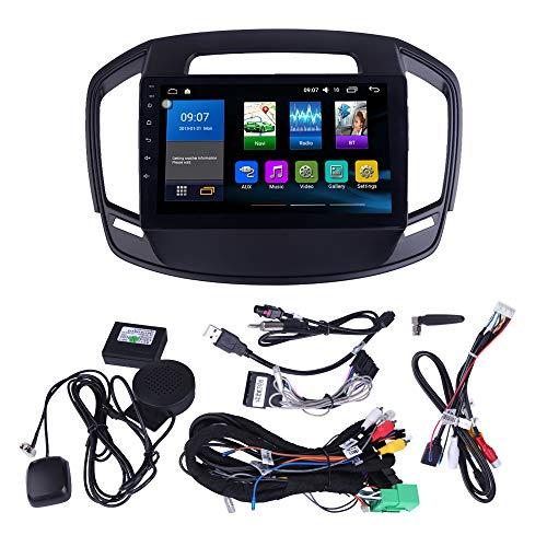 ZERTRAN Autoradio-Multimedia-Spieler Android 8.1 Octa Core 4GB+64GB ZUM Regal 2014 2015 2016 2017 mit GPS-Navigation Unterstützt Mirror-Link Lenkradkontrolle -