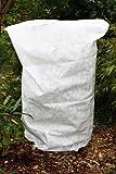 HaGa-Welt.de–Protección anticongelación de textil no tejido, 50g/m², para plantas de maceta y rosas