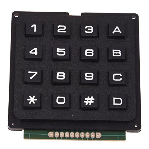 SODIALR 4x4 Matrix 16 Teclado USE Teclas PIC AVR Sello