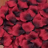 2018 Dekorative Blumen Rose Blütenblätter Hochzeit Feier Hochzeitsfeier Lieferungen Simulation Rose Blütenblätter Heirat Hochzeit Bett Hochzeit Bett Dekoration Layout , 15 , 100