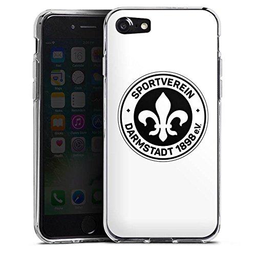 Apple iPhone X Silikon Hülle Case Schutzhülle Fußball Bundesliga Fussball Silikon Case transparent