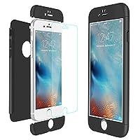 """Creata esclusivamente per Apple iPhone 6 / iPhone 6S (4.7 pollici).(Non disponibile per iPhone 6Plus / 6S Plus 5.5"""").3-in-1 Struttura:Progettato con 3 parte di matte PC per proteggere il vostro iPhone da cadere, la scossa e graffi ecc.Applica..."""