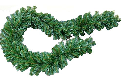 FKL Guirlande de Sapin de Noël Vert 300 cm/270 cm, Plastique, Vert, 240 Spitzen