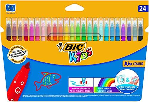 BIC Kids Kid Couleur - Blíster de 24...