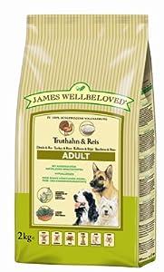 James Wellbeloved Adult Turkey and Rice Kibble 2 kg from HGGA4