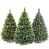AmeliaHome 07812 120 cm Künstlicher Weihnachtsbaum PVC Tannenbaum Christbaum Kiefer Klaus Weihnachtsdeko