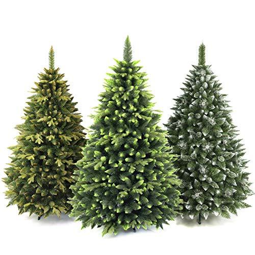 AmeliaHome 07829 150 cm Künstlicher Weihnachtsbaum PVC Tannenbaum Christbaum Kiefer Klaus Weihnachtsdeko