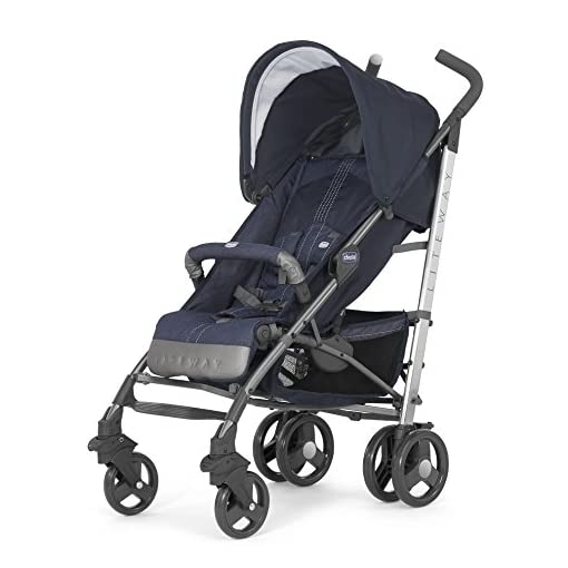 Chicco Liteway Top Stroller with Belly Bar 51gvZ5bJu9L