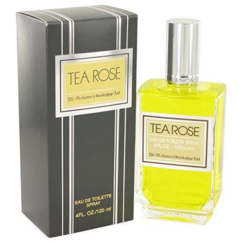 Perfumers Workshop Tea Rose Eau De Toilette Spray, 118.29ml