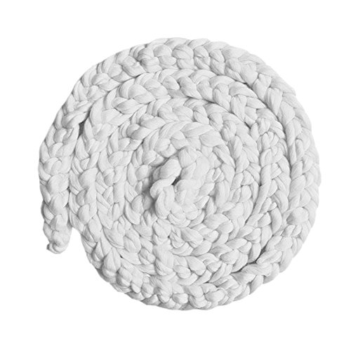 iKulilky Baby Fotografie Prop Wolle Korb Neugeborenen Foto Requisiten Braid Kinderdecke Teppich 0-12 Monate