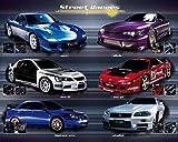 Empire Coches - Póster de coches de carreras (incluye artículo adicional)