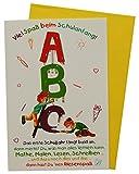 Glückwunschkarte Grußkarte Einschulung 1. Schultag 61-1120
