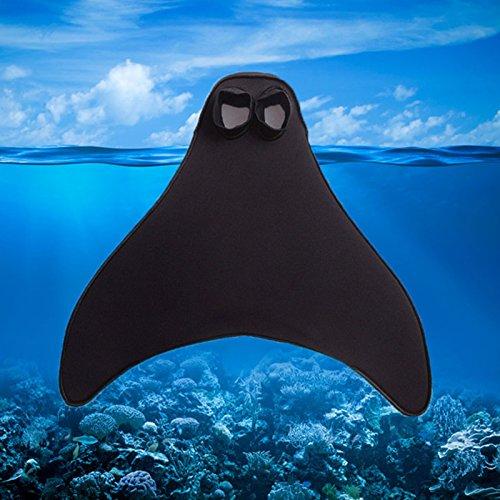1pcs adultos de sirena colas niña swimmable bañadores de natación aletas de buceo aletas, For Kids