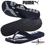 Puma Epic Flip V2, Tongs Mixte Adulte, Bleu (Peacoat-Puma White 11), 37 EU