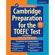 Cambridge Preparation for the TOEFL Test Book with Online Practice Tests and Audio CDs (8) Pack