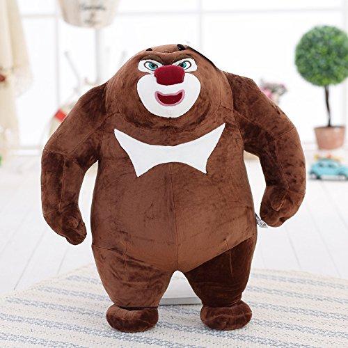 Fabcca Niedlicher Bär Haunted Doll Plüschbär Big Bear Zwei Puppe Lappen Puppe senden Kind Mädchen Geschenk