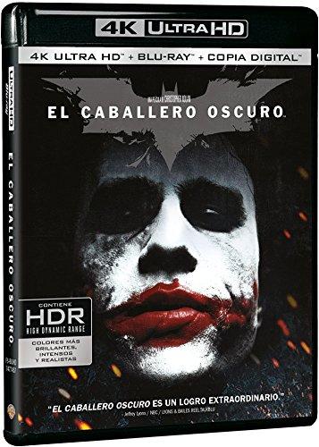 El Caballero Oscuro Blu-Ray Uhd [Blu-ray]